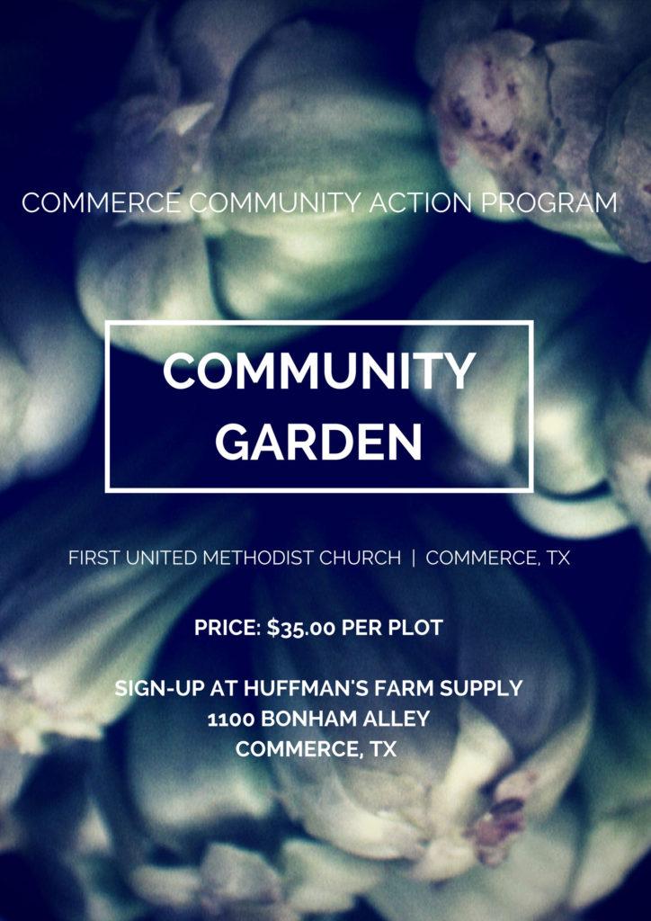 Community Garden | CCAP — Commerce Community Action Program